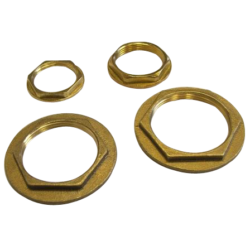 IMMERSION HEATER BRASS BACKNUT